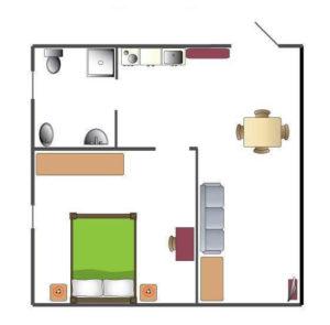 Appartamento B- 50mq